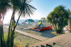 Детская площадка на пляже, «Бургас», Сочи