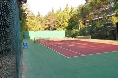 Теннисный корт, пансионат «Бургас»